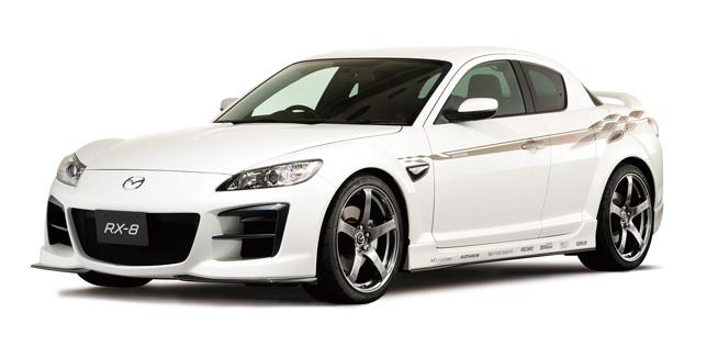 Mazda RX-8 Circuit Trial