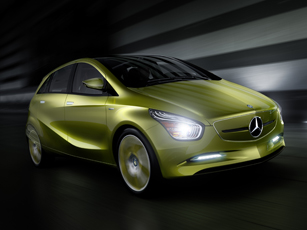 mercedes-benz concept bluezero: three-fold proof of the everyday practicality of zero-emission vehicles