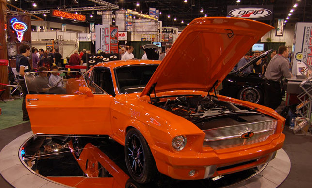 Mustang Equus CDC at SEMA
