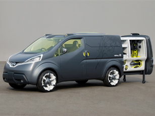 Nissan NV200 Concept Brings