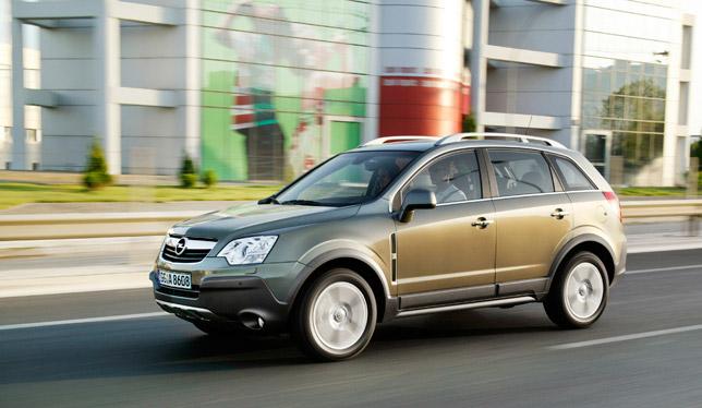 New Opel Antara with Front-Wheel Drive
