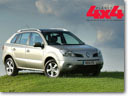 Renault Koleos Wins Hat-Trick At Planet 4x4 Magazine's 2008 Awards