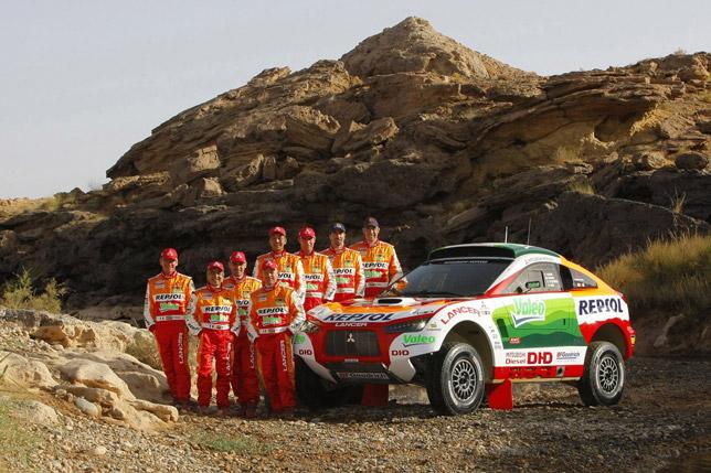 Repsol Mitsubishi Ralliart Team 2009