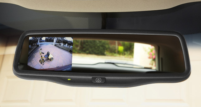 Holden Sportwagon Rear-vision Camera