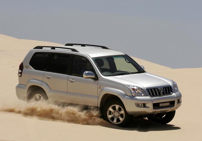 Toyota Land Cruiser Prado GXL