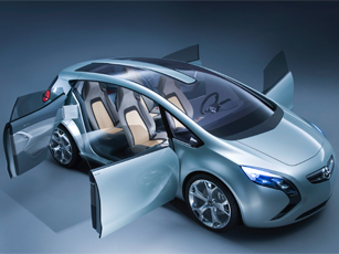 Vauxhall/Opel Flextreme Receives Prestigious Red Dot Design Award