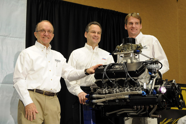 2009 Ford NASCAR Sprint Cup engine the FR9
