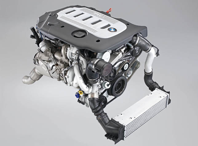 6-cylinder Diesel Engine with Variable Twin Turbo technology