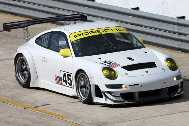 911 GT3 RSR, Flying Lizard Motorsports