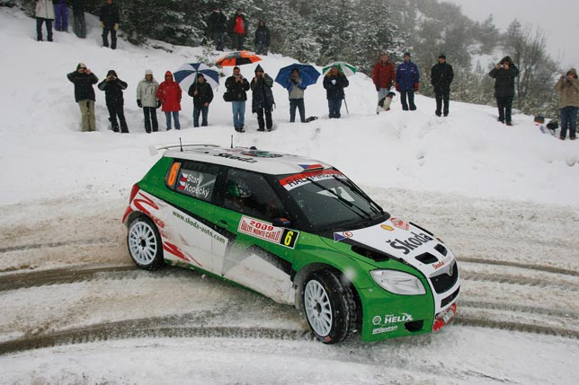 Fabia Super 2000 Rally Monte Carlo
