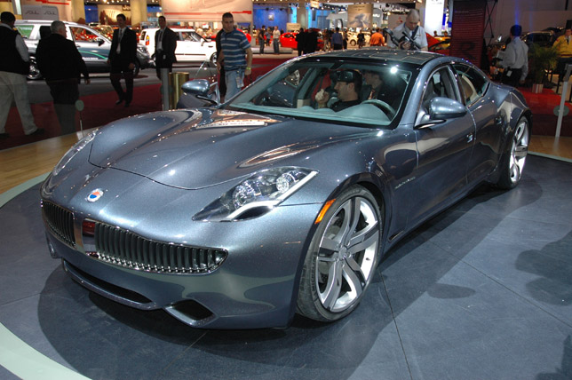 Fisker Karma –four-door coupe will be built by Valmet