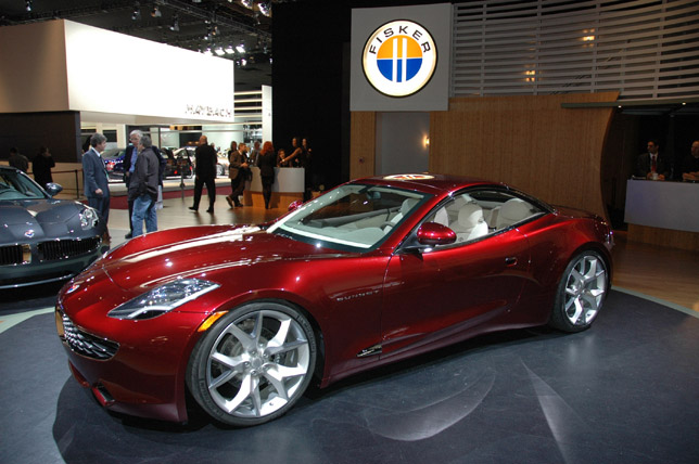 Fisker Sunset –coupe uses the same structure and powertrain as Karma
