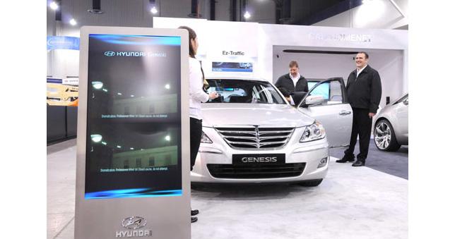 Hyundai Genesis At CES