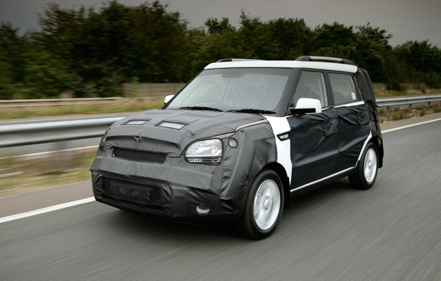 Kia Soul suspension developed in the UK