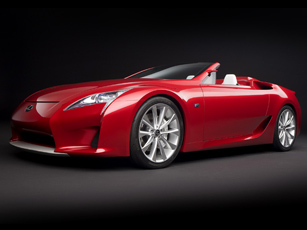 Lexus Super Car Races To Melbourne Motor Show