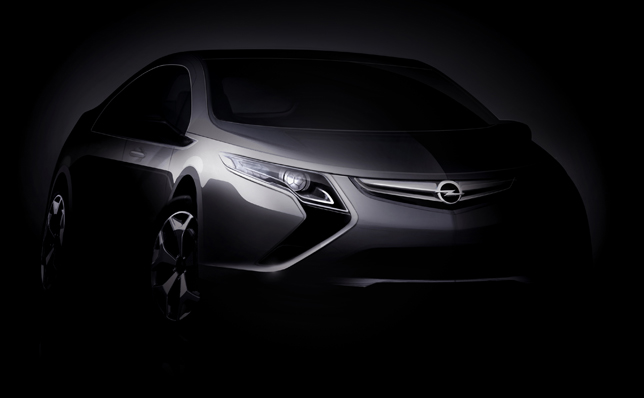 Opel Ampera Electric Car