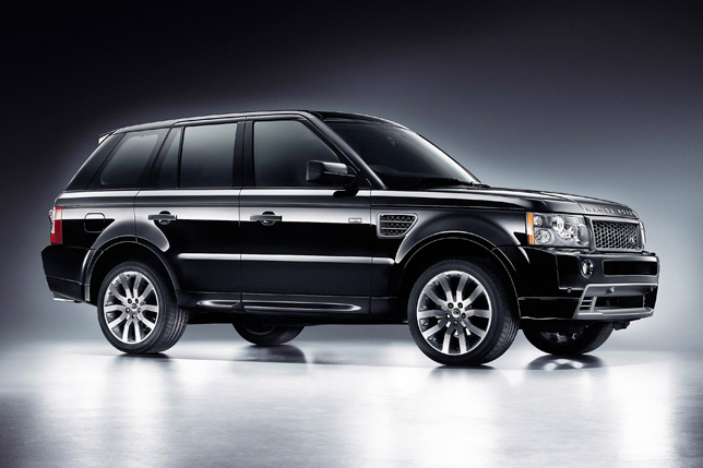 The Range Rover Sport Stormer Edition