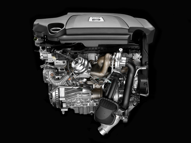 Volvo D5 twin-turbo diesel engine