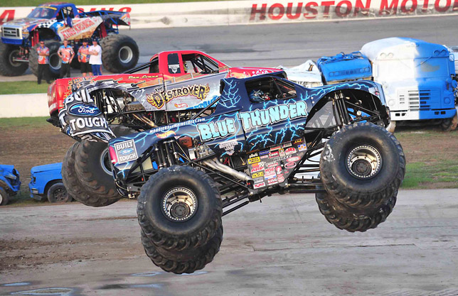 The Blue Thunder Monster Truck