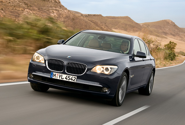 BMW 7 Series Winner in the Luxury Class