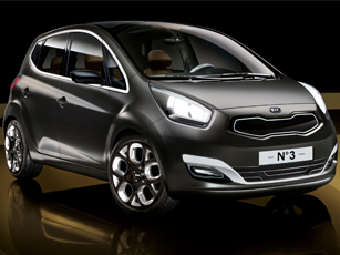 It's a magic number for Kia! The No 3 concept makes its debut at Geneva