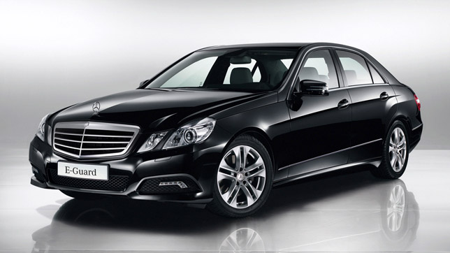New E-Guard model from Mercedes-Benz