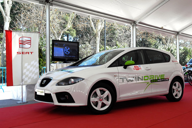 "SEAT León ""Twin Drive Ecomotive"" project"