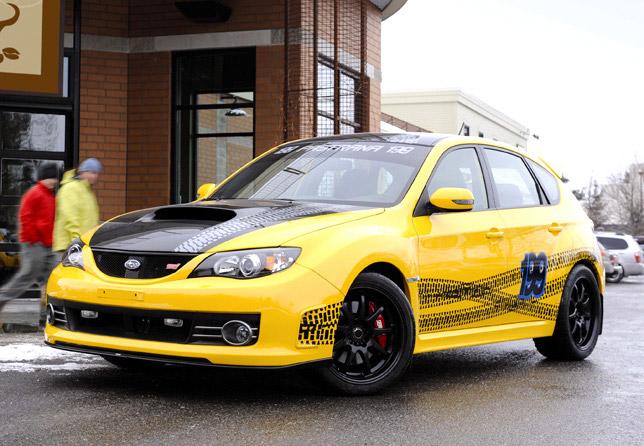 Subaru Impreza WRX STI - SUBARU OF AMERICA CUSTOM IMPREZA