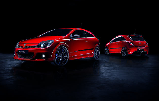 Vauxhall Astra and Corsa VXR