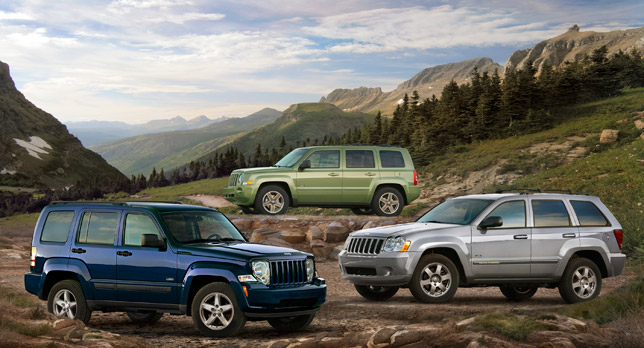 2009 Jeep Liberty Rocky Mountain Edition, Jeep Grand Cherokee Rocky Mountain Edition and Jeep Patriot Rocky Mountain Edition