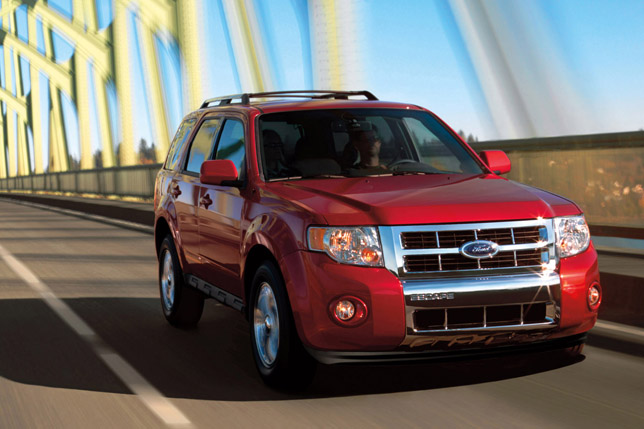 2010 Ford Escape Adds New Safety Technologies