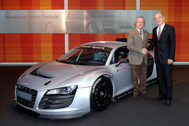 Delivery Of The Audi R LMS Has Started - Audi european delivery