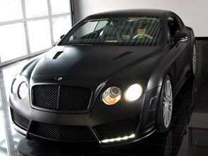 bentley continental gt speed – mansory refines the english luxury car