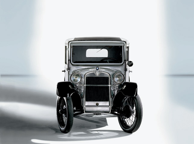 75 years BMW automobiles: BMW 3/15 PS, 1929