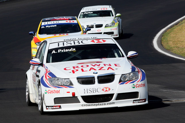BMW 320si - WTCC. Reactions: Andy Priaulx (BMW Team UK):
