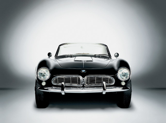 BMW 507, 1955