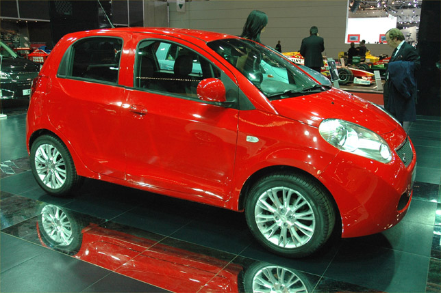 DR1 is Chinese-made Chery A1