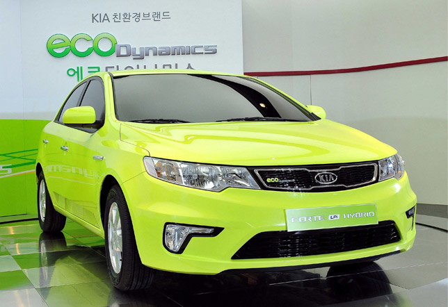 Kia unveils new hybrid Forte and Eco Dynamic brand on Korean mar
