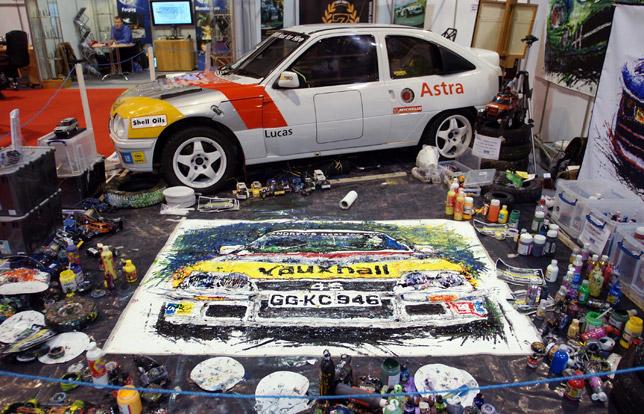 Ian Cook - Poopbang car art
