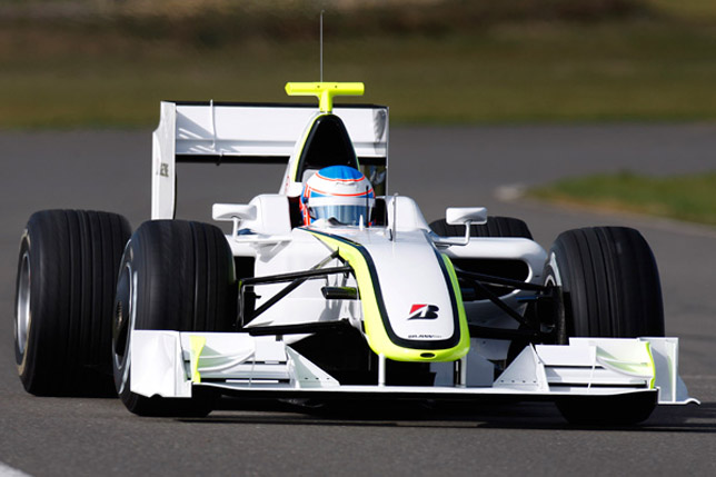 Jenson Button Brawn GP, Melbourne / Australia