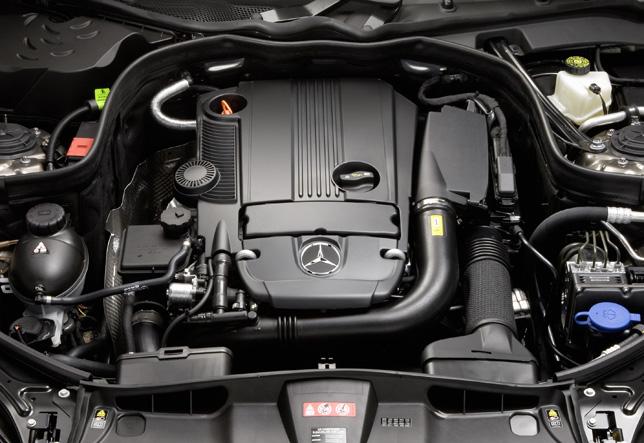 Mercedes-Benz E-Class, E 250 CGI, four-cylinder petrol engine, M271