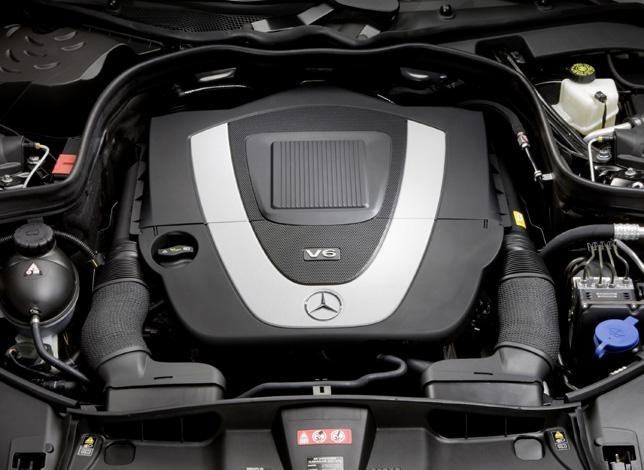 Mercedes-Benz E-Class, E 350 CGI, six-cylinder petrol engine, M272