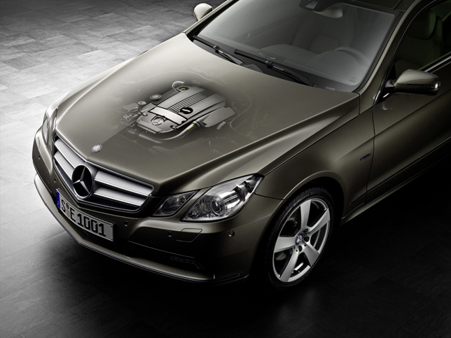 Mercedes-Benz E-Class, four-cylinder petrol engine, M 271