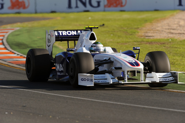 Australian GP, Melbourne Australia. Nick Heidfeld (GER) in the BMW Sauber F1