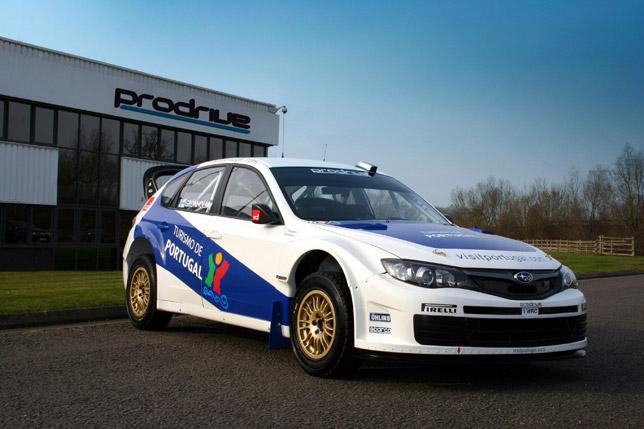 Prodrive Impreza WRC2008