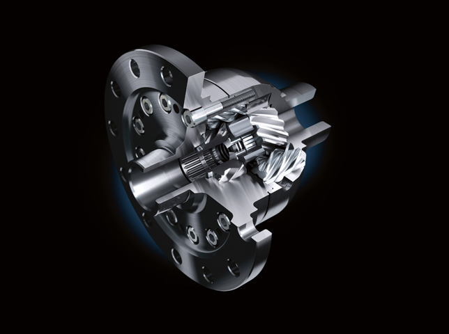 The Quaife Automatic Torque Biasing differential uses natural forces within a helical gear set so does not require the electronics or friction materials used in most other LSDs. New version for Focus RS