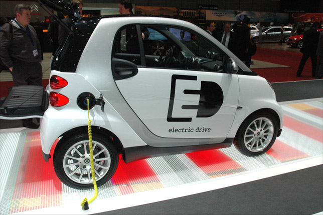 The biggest technical change in the new Fortwo ED is a move to Lithium Ion batteries