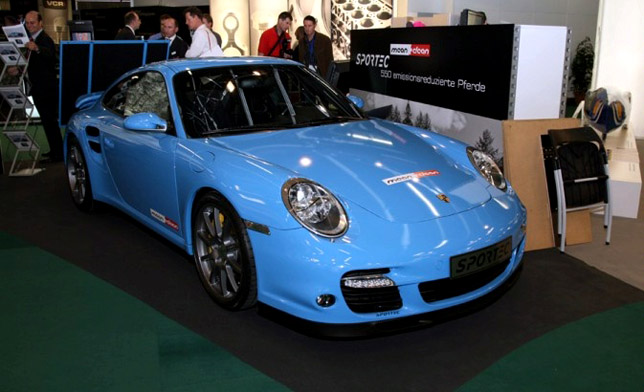 Sportec SP 550mc at Geneva Motor Show 2009