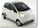 Tata Nano Europa displayed at 79th Geneva Motor Show