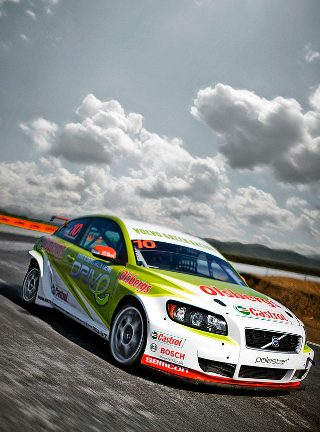 DRIVe technology in the new Volvo C30 Green Racing for STCC